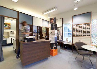 Umgestaltung Verkaufsraum | Optiker Dankleff