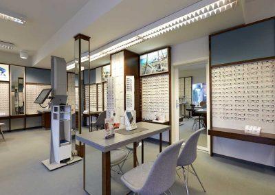 Nachher Raumansicht Optiker Dankleff