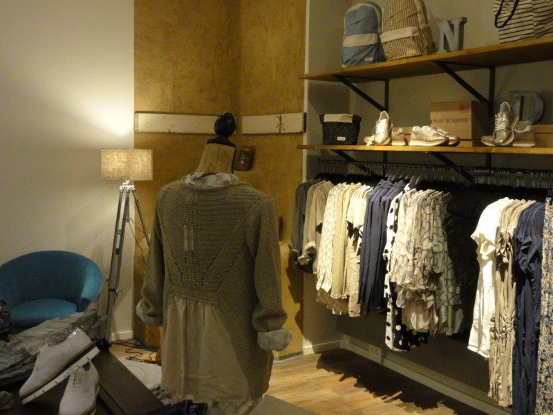 Innenansicht Boutique Schmiede Nr.5