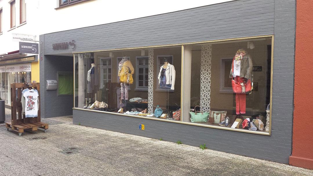 Ergebnis Aussenansicht Modeboutique Schmiede Nr.5