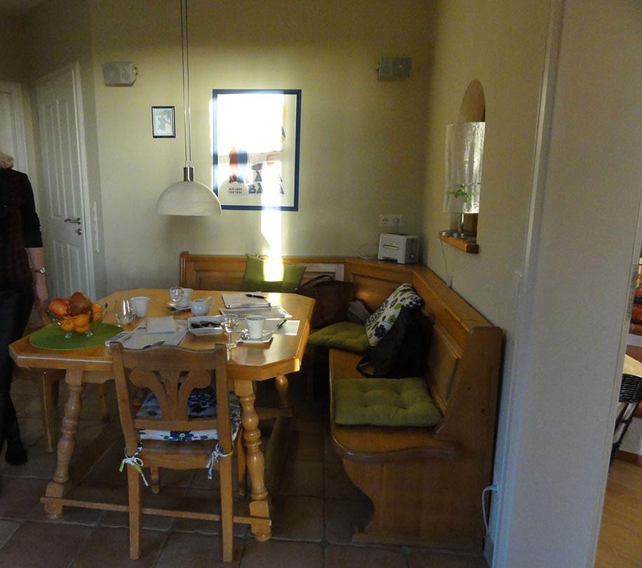 Vorher Küche Sitzecke