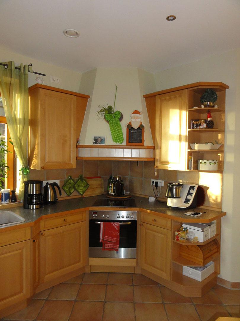 Vorher Küche Kochbereich