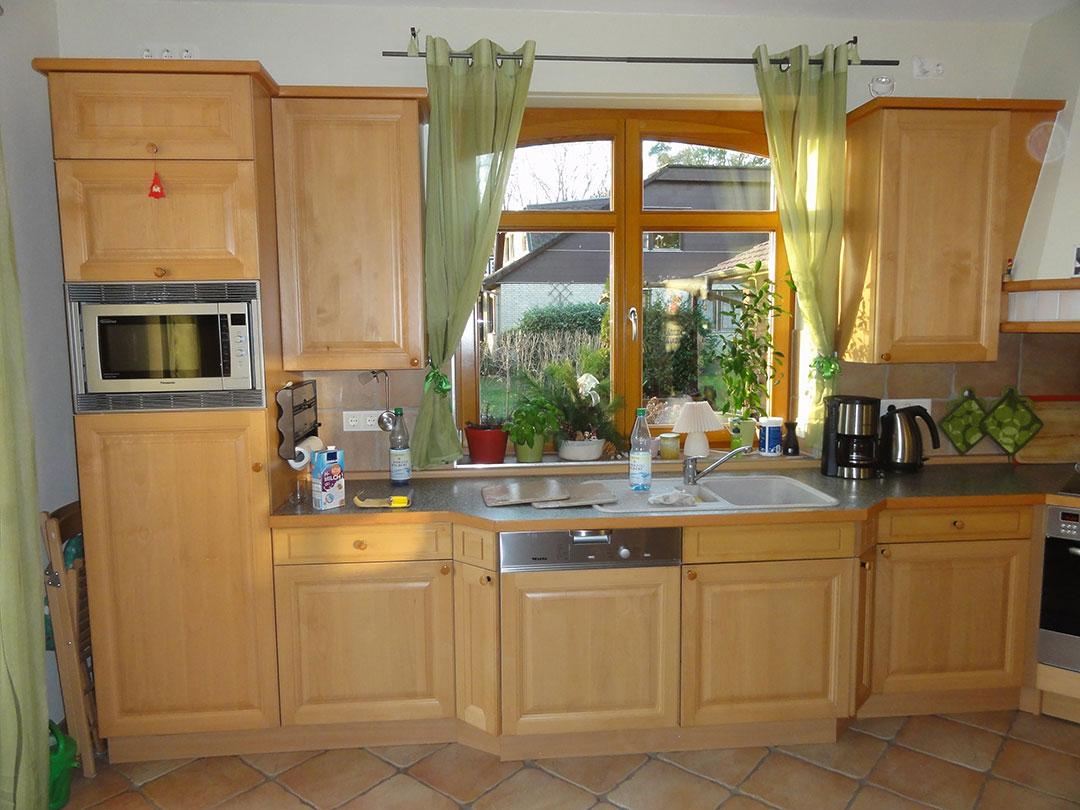 Vorher Küche Arbeitsbereich