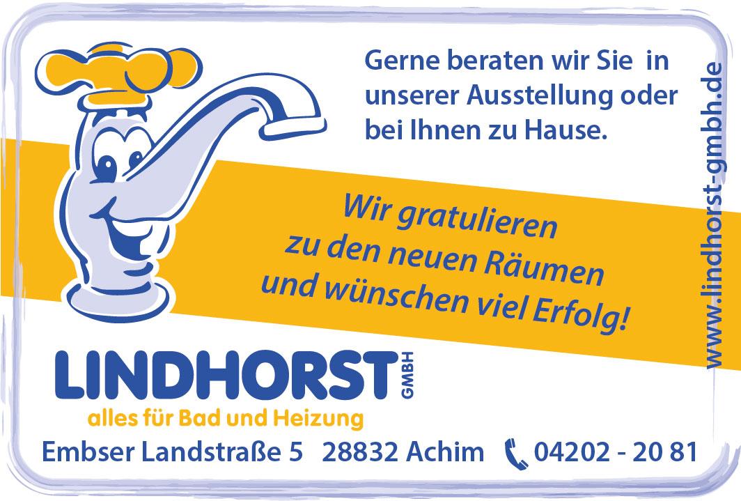 Anzeige der Friedrich Lindhorst GmbH