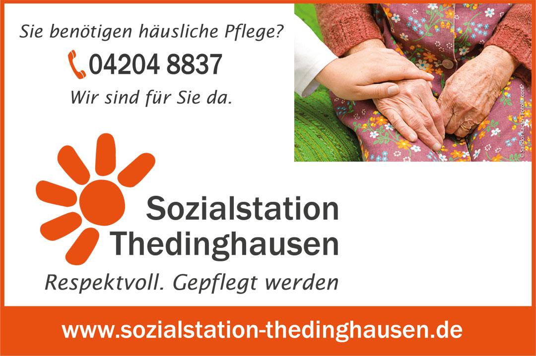 Anzeige Sozialstation Thedinghausen