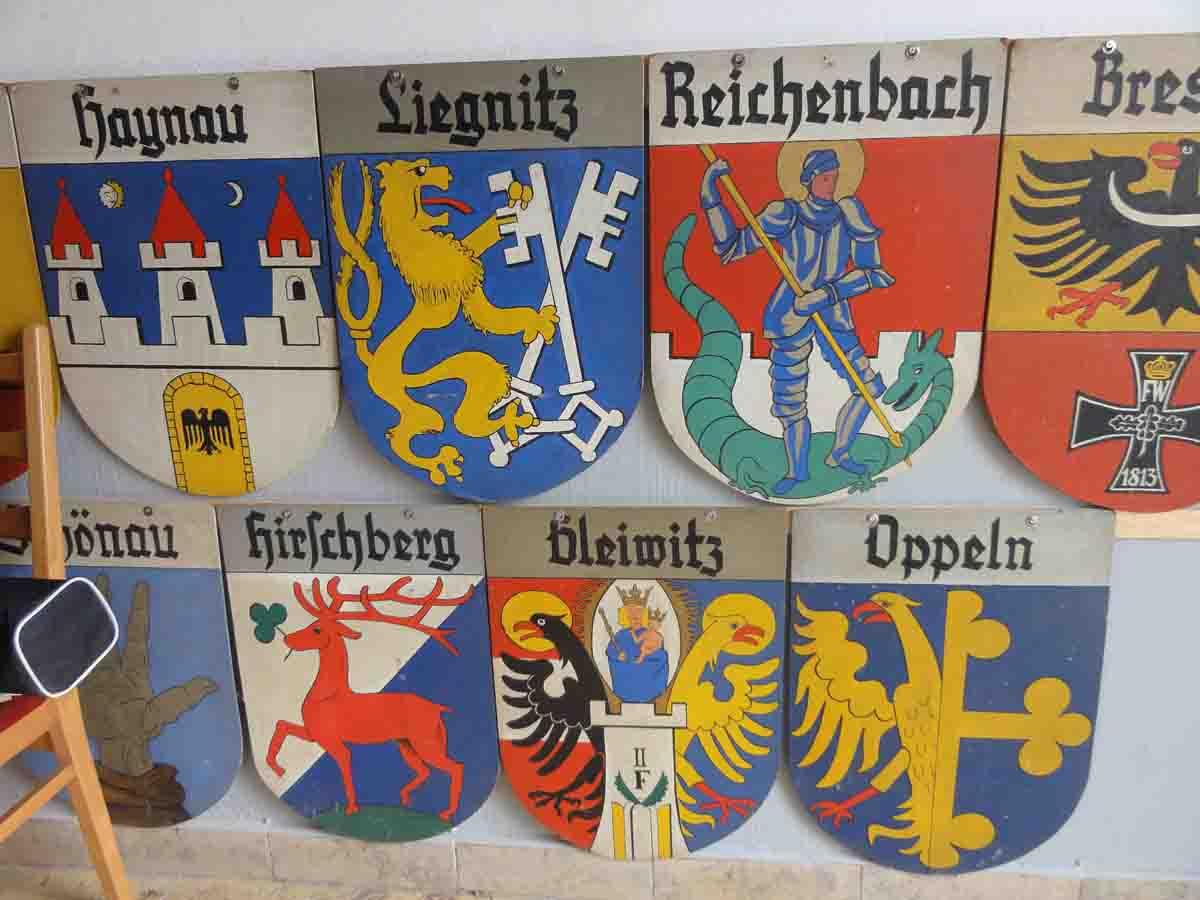 Eingangsbereich Wappen vorher Heimatstube Goldenstedt