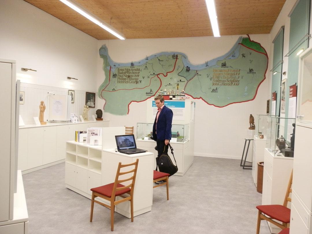 Ergebnis Ausstellungsraum Heimatstube Goldenstedt