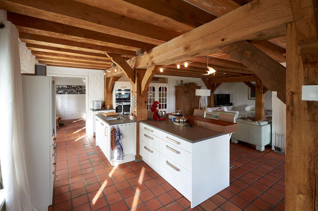Ergebnis Küche 03 Blick durch die Küche in den HWR