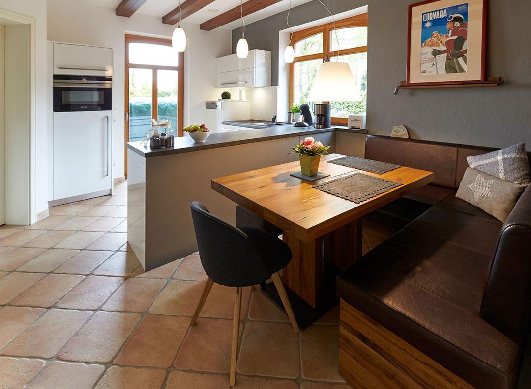 Ergebnis Küche: Sitzecke mit Polsterbank