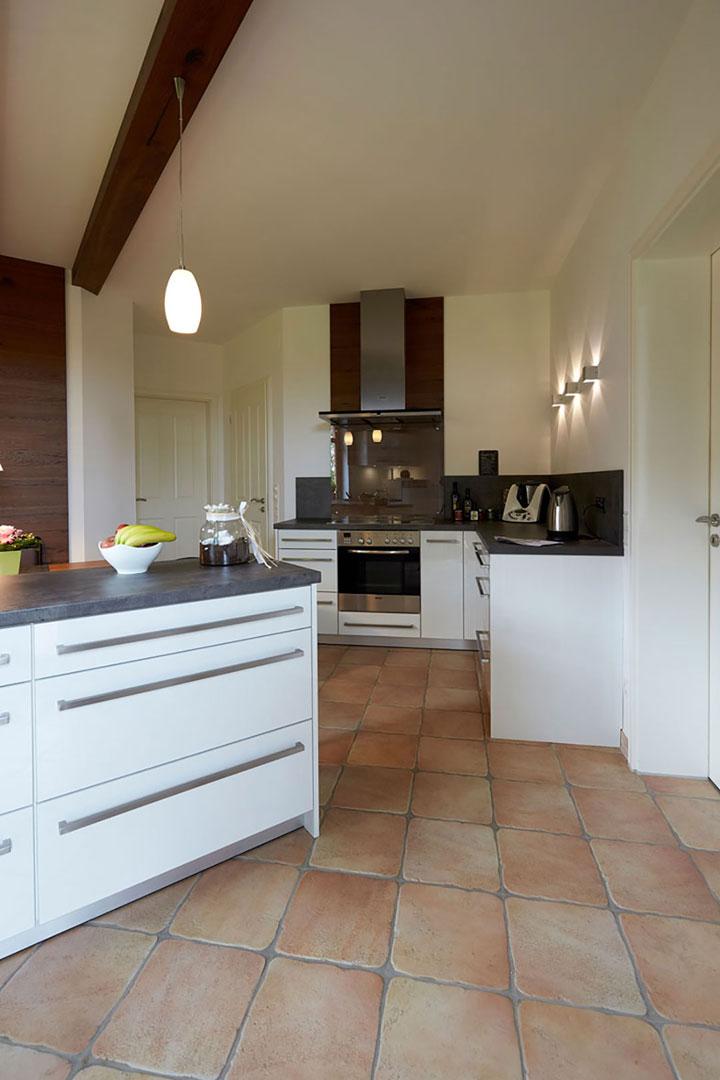 Ergebnis Küche: Blick in den Kochbereich