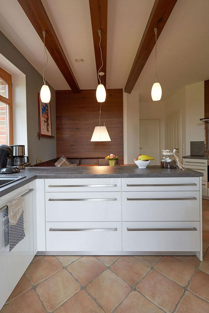 Ergebnis Küche: Blick über den Tresen