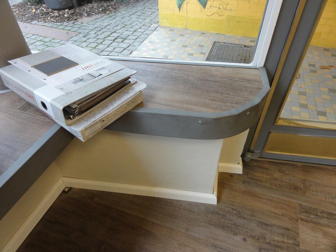 Detaillösung Fensterbank Schmiede Nr.5