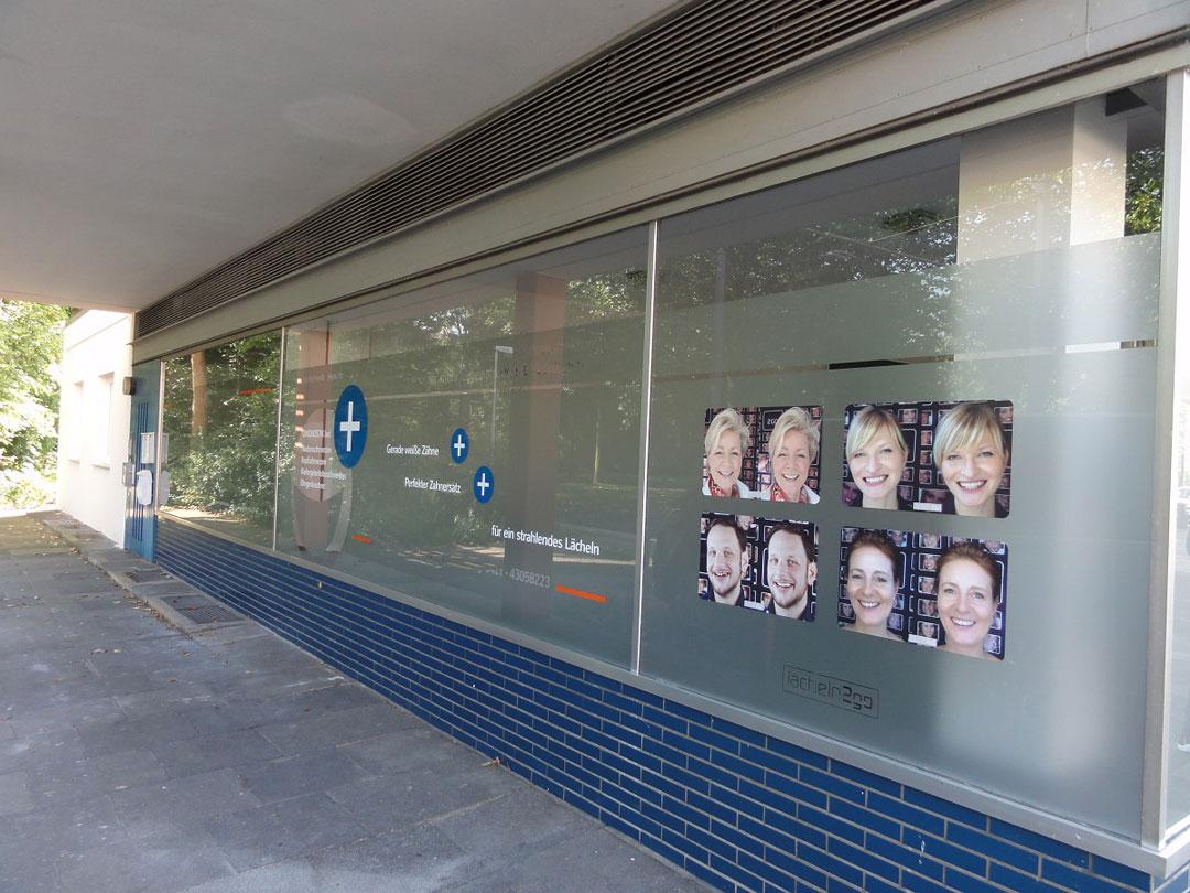 Fensterfolierung Bremen Seitlich