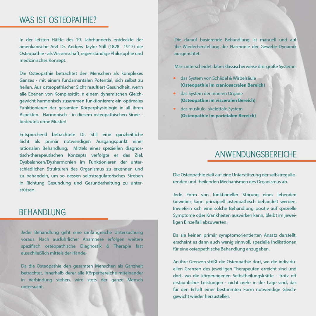 Flyer Osteopathie Markus Meyer-Tietjen Innenseite