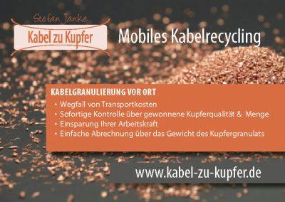CI | Kabel zu Kupfer – Mobiles Kabelrecycling