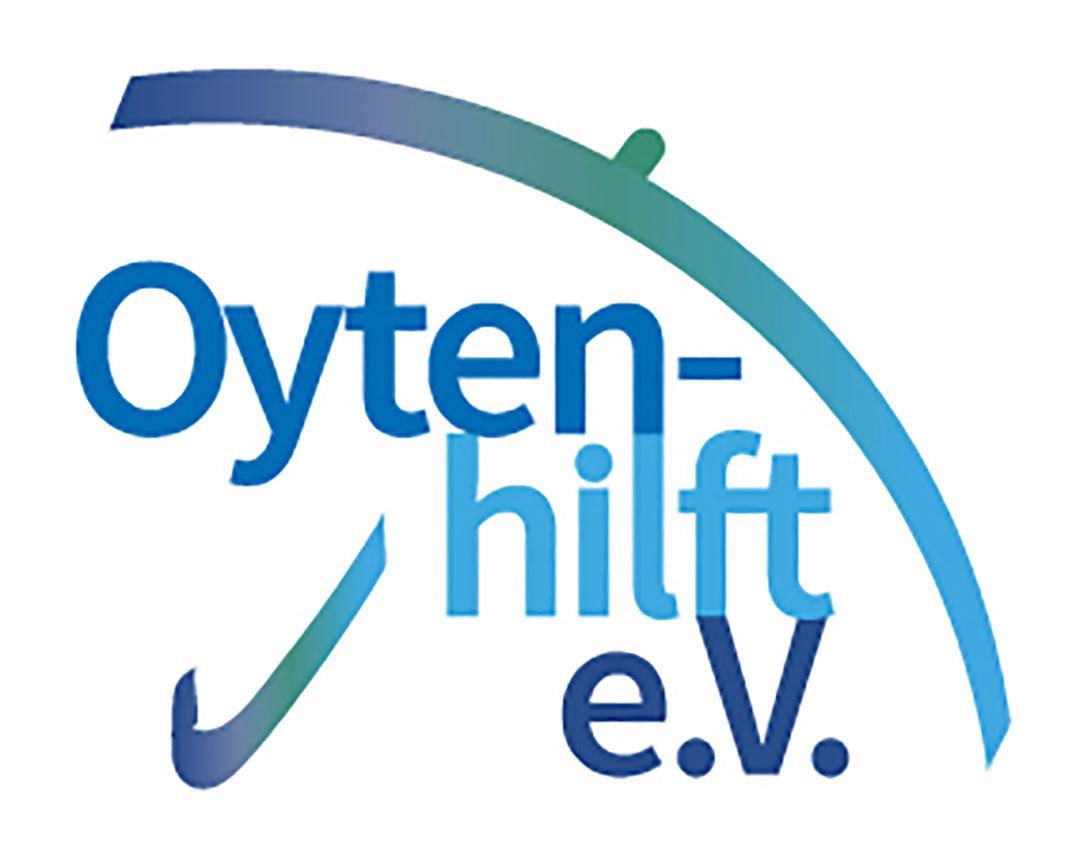 Logo des Vereins Oyten-hilft e.V.