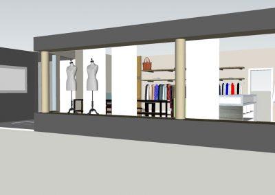 Raumkonzept Modeboutique | Schmiede Nr.5