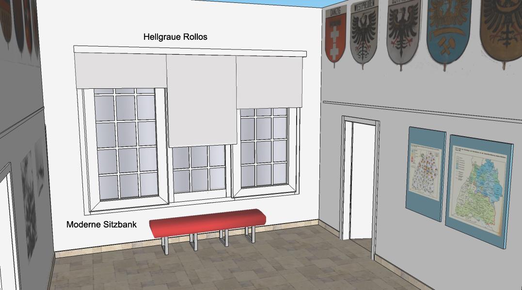 Visualisierung Eingangsbereich Heimatstube Goldenstedt