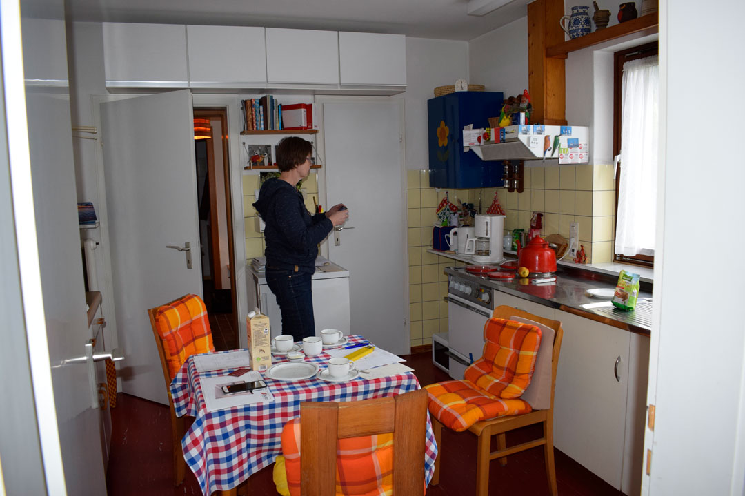 Vorher Küche