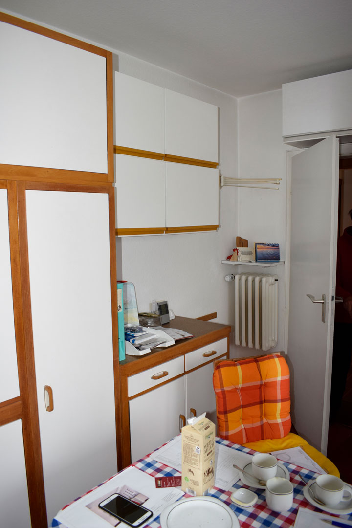 Vorher Küche Schrankwand