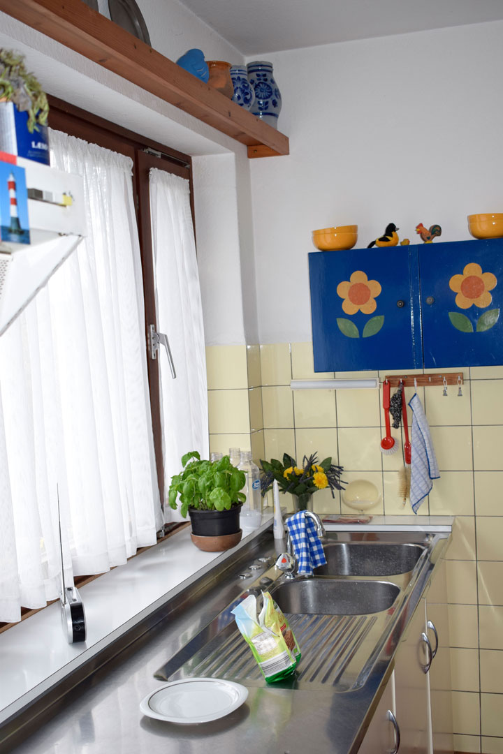 Vorher Küche Arbeitsfläche