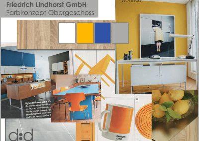 Farbkonzept Lindhorst Büro Neugestaltung