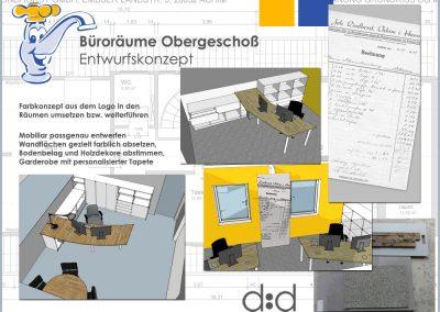 Raumkonzept Lindhorst Büro Neugestaltung