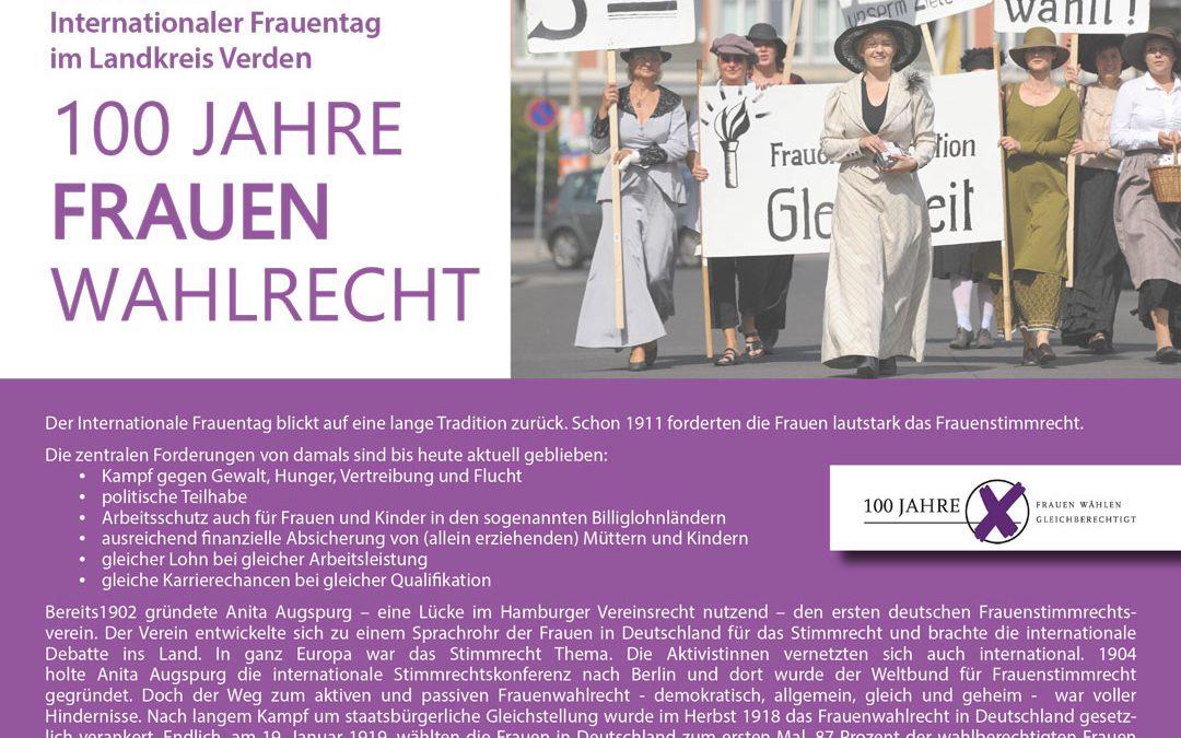 8. März Internationaler Frauentag